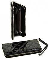 Женский кожаный кошелек клатч Cossroll на молнии с ремешком Отличное качество, фото 1
