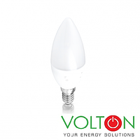Светодиодная LED лампа E14, 220V 6W 3000K