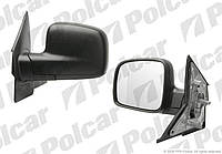 Зеркало левое механ VW T5  Polcar
