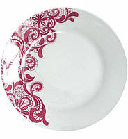 """Набор 6 подставных тарелок """"Кружево"""" Ø26.6см, керамика"""