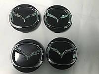 Mazda 323 Колпачки в титановые диски 55мм (4 шт)