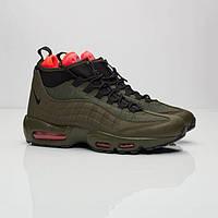 Мужские кроссовки  Nike AIr Max 95 Sneakerboot  Dark Loden/Black