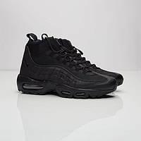 Мужские кроссовки Nike AIr Max 95 Sneakerboot All Black