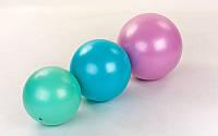 Мяч для пилатеса и йоги Pilates ball Mini FI-5220-20 Pastel (PVC, латекс, d-20см, 120гр, мятный)