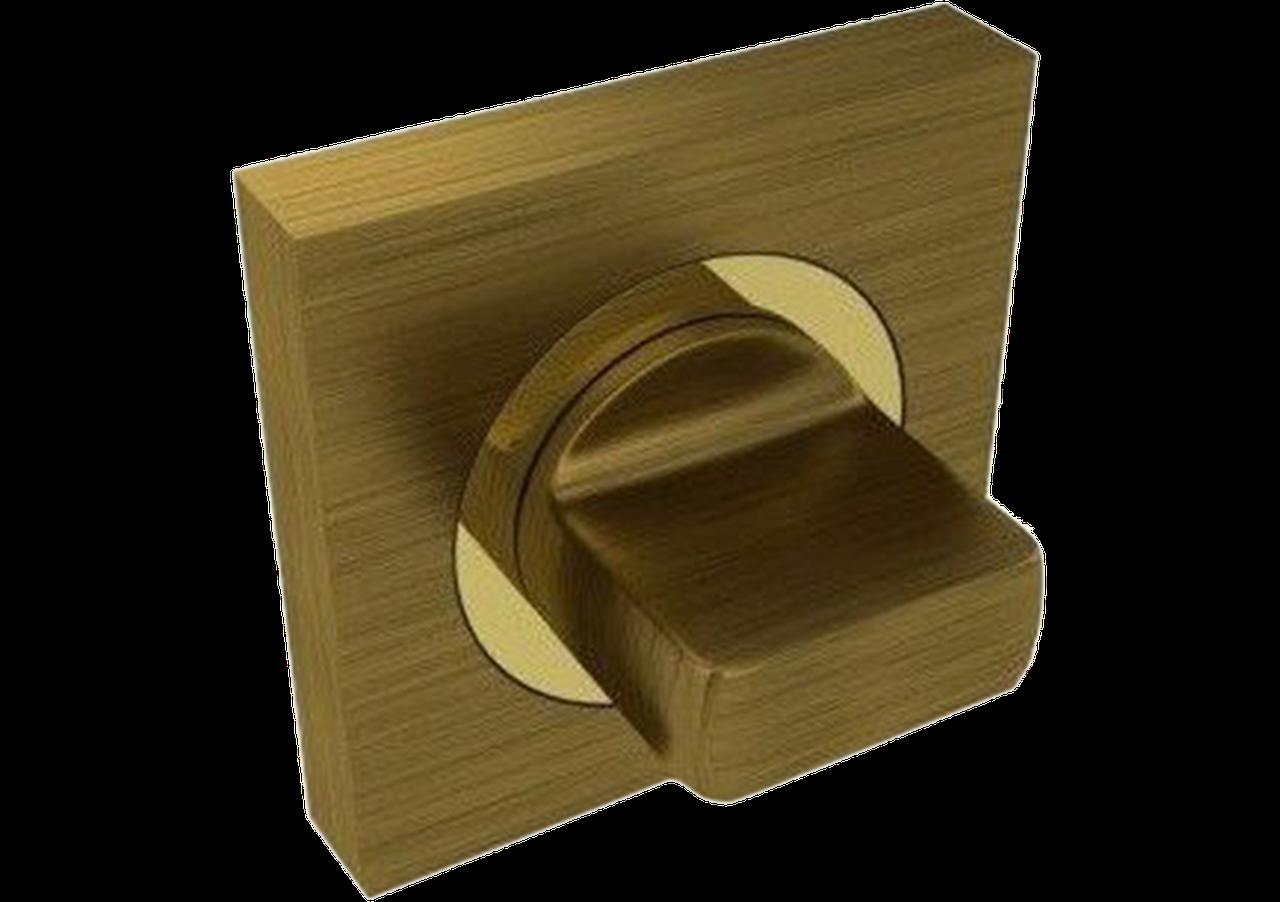 FUARO Дверна ручка поворотна BK6 KM AB/GP-7(квадрат)