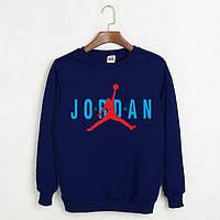 Свитшот,кофта Jordan,темно-синего цвета.