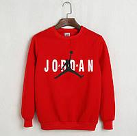Мужской свитшот Jordan, красный.