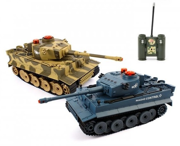 Радиоуправляемый танк 518
