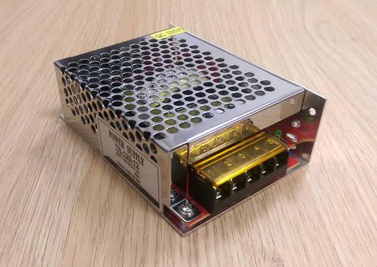 Блок питания перфорированный 12V 10А 120W для led ленты