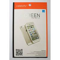 Защитная пленка Celebrity для iPhone 5/5S 2in1, глянцевая