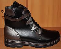 Ботинки женские зима большого размера, женская обувь больших размеров от производителя модель М52И02