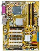 Плата S775 ASUS P5GC на DDR2 понимает 2 ЯДРА ПРОЦЫ INTEL Core2DUO до E7400 775 FSB 1066 c ГАРАНТИЕЙ