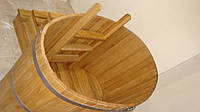 Купель овальная для бани и сауны