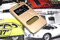 Чехол книжка Momax для Lenovo K3 золотистый, фото 1