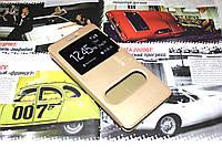 Чехол книжка Momax для Samsung Galaxy A7 A700 золотистый, фото 1