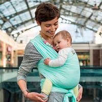 Слинг-шарф трикотажный Love & Carry — МЕНТОЛ бесплатная доставка новой почтой