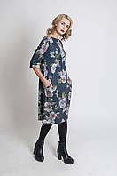 Платье трикотажное с карманами П57, фото 1
