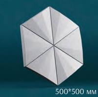 "3D панель ""Гексагон техно"" (154)"