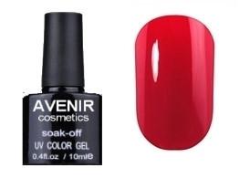 Гель-лак AVENIR Cosmetics №62. Ретро-красный 10 мл.
