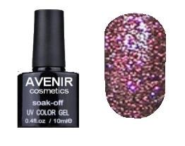 Гель-лак AVENIR Cosmetics №192. Бузковий діамант 10 мл.