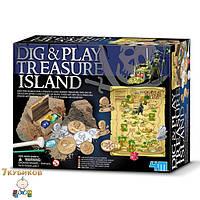 Раскопай и играй. Остров сокровищ. 4М