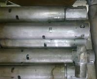 Погружные пневмоударники П-85, буровая коронка КП-85.