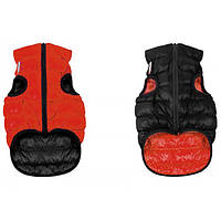 Курточка для собак двухсторонняя AiryVest, размер XS 25, красно-черная