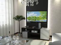 Тумба TV-line 8 143х53һх35 МДФ венге