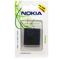 Аккумулятор Nokia BP-6M 1100 mAh 3250, 6151, 6233 AA класс