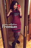 Платье женское Губки бордо , женский одежда