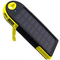 Solar Charger Power Bank 12000 mAh желто-черный