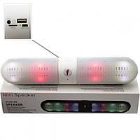 MP3 Bluetooth колонка beats Danwan LED белая