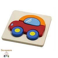 """Пазл для малышей """"Машинка"""" Viga toys"""