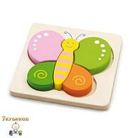 """Пазл для малышей """"Бабочка"""" Viga toys"""