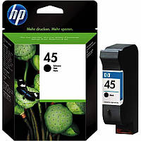 HP 45 Картридж Black (Черный) (51645AE)