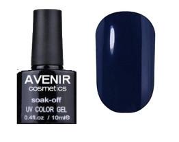 Гель-лак AVENIR Cosmetics №90. Синяя насыщенная лазурь 10 мл.