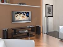 Тумба TV-line 7 126х53һх35 венге