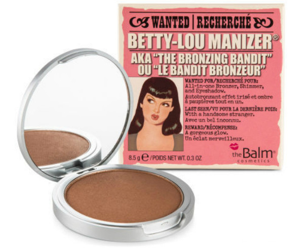 Бронзер для лица в стиле Betty lou manizer The Balm