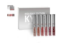 Kylie Holiday Edition - набор матовых помад 6 шт