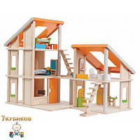 Игровой дом Шале с мебелью Plan Toys