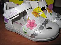 Туфли для девочки B&G 21 р-р арт LD133-295