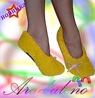 Домашняя обувь махровая