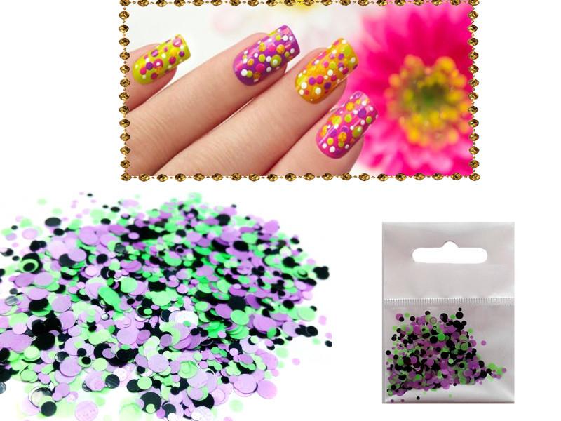 Конфетті для нігтів арт. KF-07