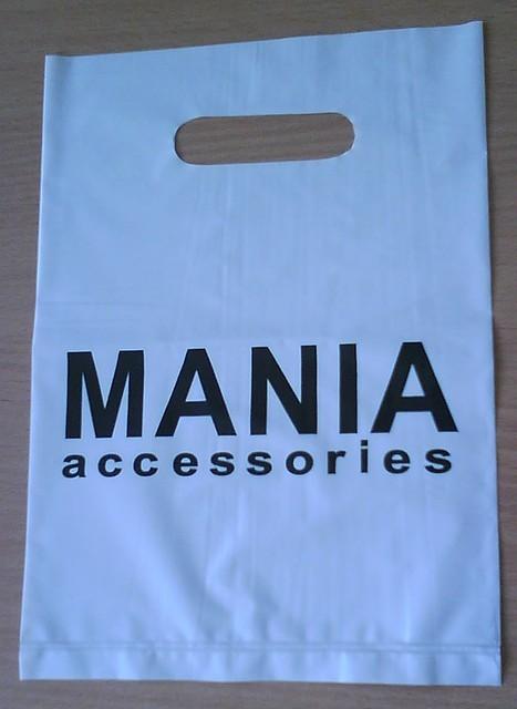Пакети поліетиленові з логотипом MANIA