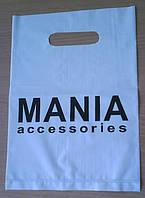 Пакеты полиэтиленовые с логотипом MANIA