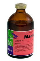 Макролан 200 (тилозина тартрат 200 мг) 100 мл ветеринарный антибиотик широкого спектра действия