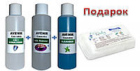 Жидкости для маникюра (3 по 100 мл) и салфетки в подарок