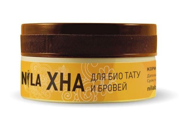 Хна для біотату і брів Nila (коричнева) 20 г