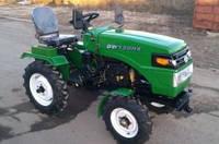 Минитрактор (Трактор) DW 120RX (12 л.с., колеса 5,00-12/6,5-16, с гидравликой, новый дизайн, 3 датчика)