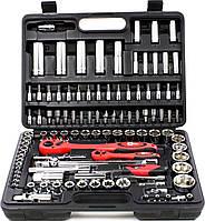 Набор инструментов интертул Intertool ET-6108 108 предметов черный чемодан